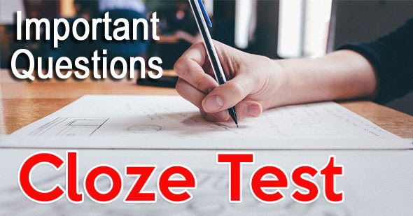 Free Cloze Test in English with Questions and Answers