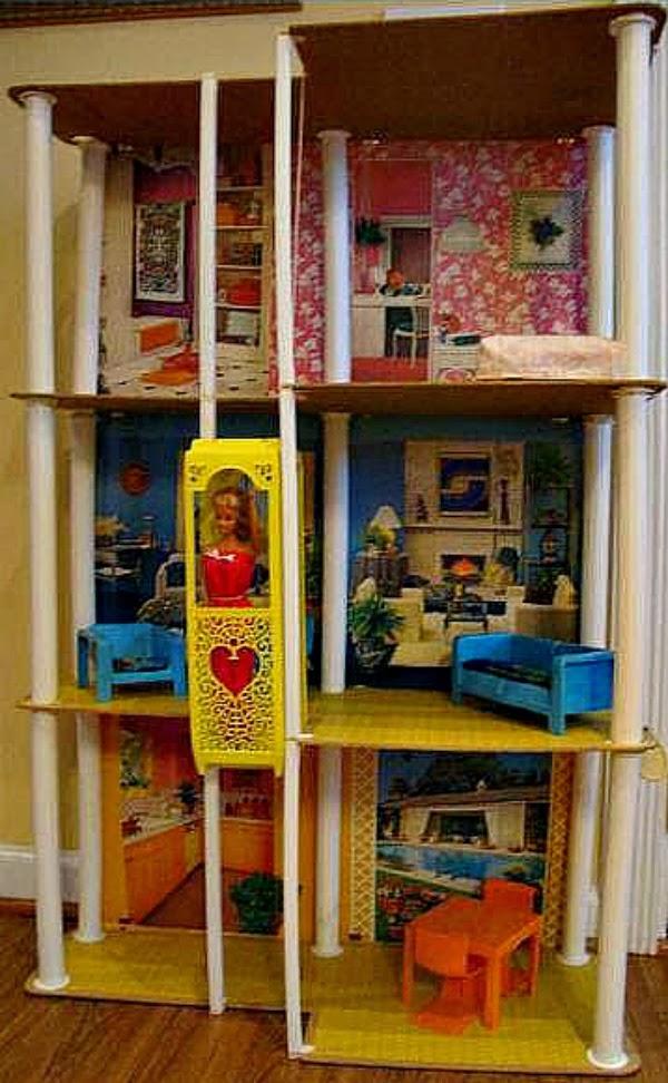 Vintage Barbie Dream House - Christmas Memories