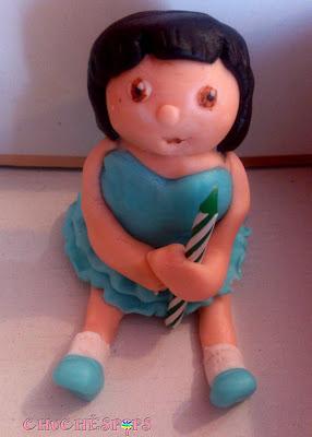 Figura Dora Exploradora Fondant