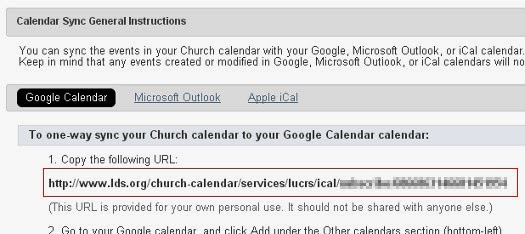 Grant's Blog: Viewing Your lds org Calendar in iOS