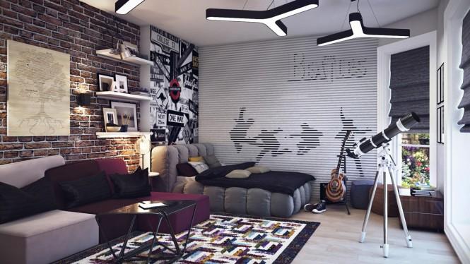 Hogares Frescos Disenos De Habitaciones Para Jovenes Adolescentes