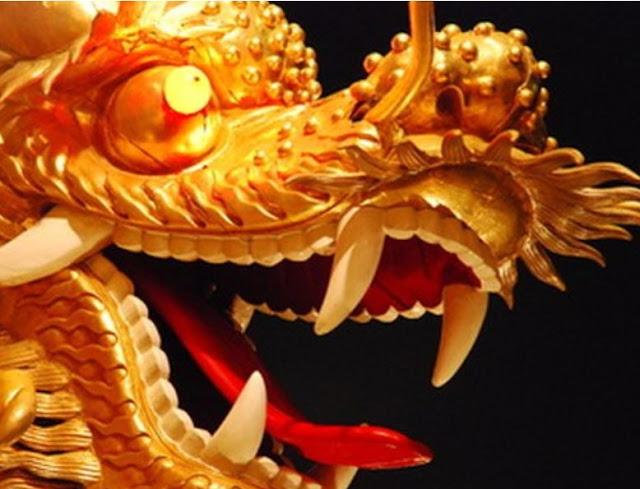 dragón chino con tutorial