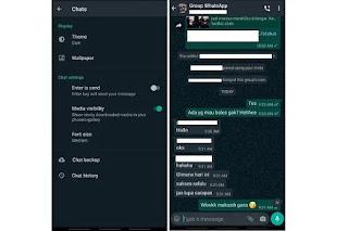 Cara Mengaktifkan WhatsApp Mode Gelap (Dark Mode)