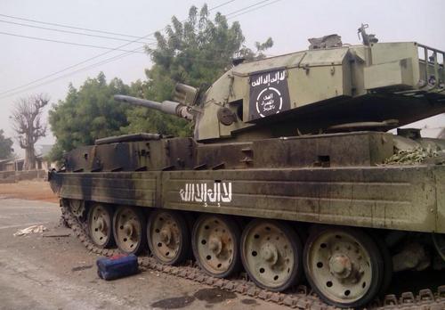 boko haram armoured tanker