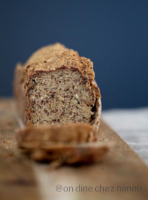 pain sans blé , aux céréales , sarrasin , sans allergnes , sans blé , sarrasin , quinoa