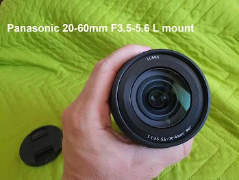 Panasonic 20-60mm F3.5-5.6 L mount