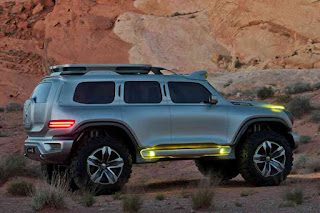 Mercedes-Benz Ener-G-Force Concept G-Wagon