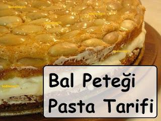 Bal Peteği Pasta Tarifi