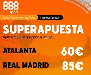 888sport superapuesta Atalanta vs Real Madrid 24-2-2021