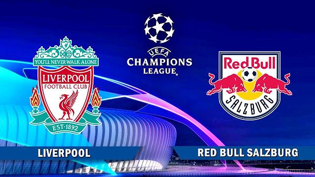 مشاهدة مباراة ليفربول وريد بول سالزبورغ بث مباشر اليوم 10-12-2019 في دوري ابطال اوروبا
