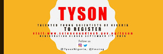 FMST Talented Young Scientists of Nigeria (TYSON) Programme 2019