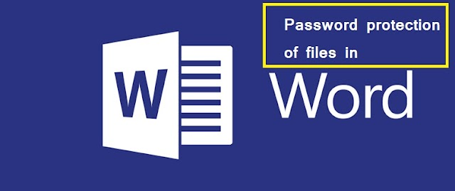 How to Protect files in word?