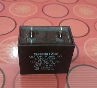 Cara Memasang (Mengganti) Kapasitor Mesin Pompa Air Shimizu