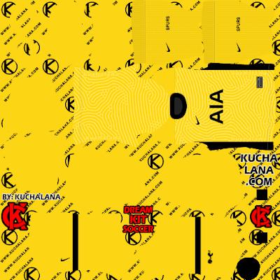 Tottenham Hotspur 2020-21 Kit - DLS20 Kits