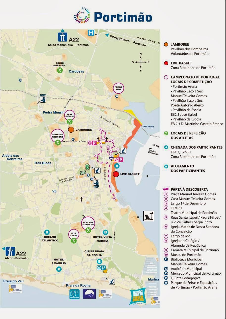 portimao mapa Mapas de Portimão   Portugal | MapasBlog portimao mapa