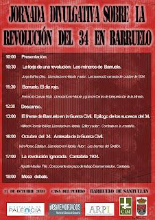 Jornada Divulgativa sobre la Revolución del 34 en Barruelo