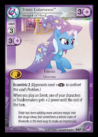 My Little Pony Trixie Lulamoon, Sleight of Hoof Seaquestria and Beyond CCG Card