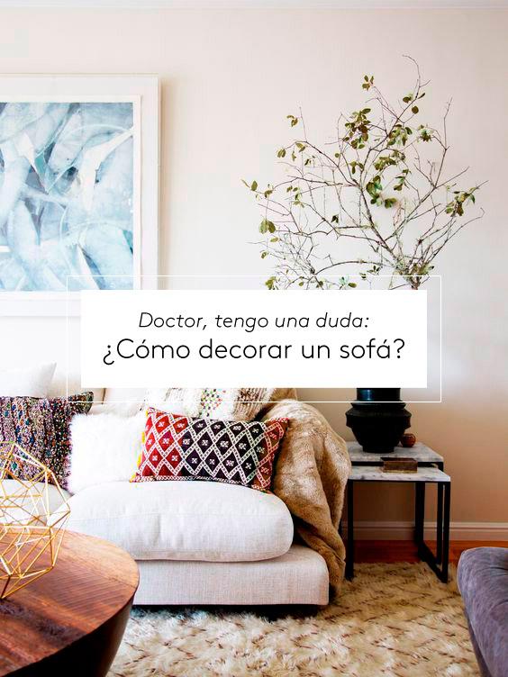 C mo decorar un sof sosete blog decoraci n con tu - Como arreglar un sofa viejo ...