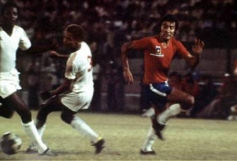 Haití y Chile en partido amistoso, 26 de abril de 1974