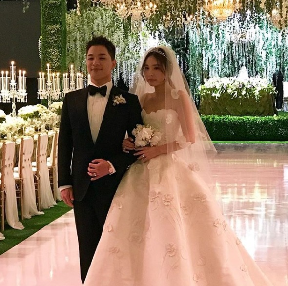 taeyang wedding