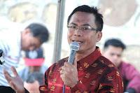 Feri Berikan Ucapan Selamat Kepada Ketua DPD Golkar Kota Bima yang Baru