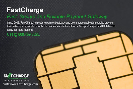 Steps involved in Credit Card Processing ~ Fast Charge Payment Gateway