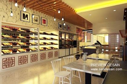 Jasa Desain Renovasi Toko Kue Outlet Bakery