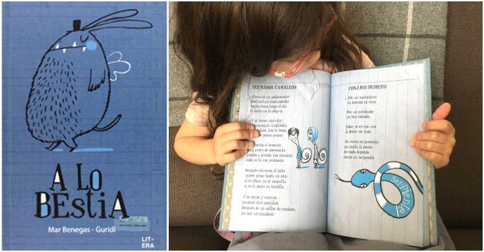 mejores libros de poesía infantil para niños, a lo bestia mar benegas