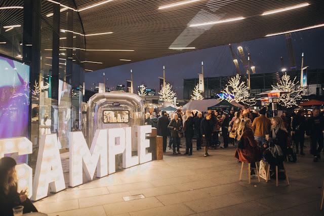 SAMPLE Christmas, London Christmas market