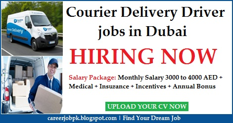 Courier Delivery Driver jobs in Dubai