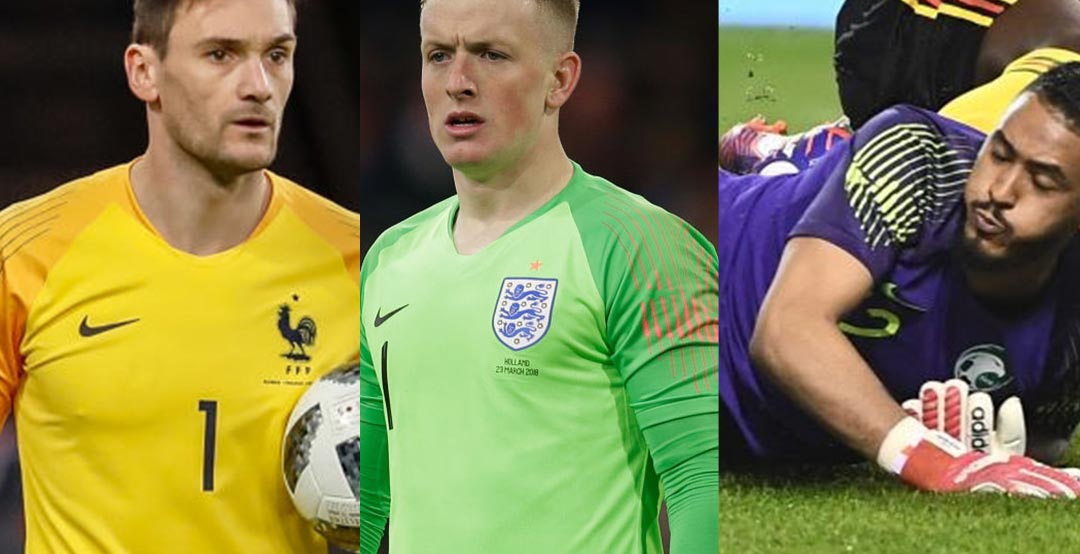 The international fixture also gave us a look Nike's goalkeeper shirts for  the 2018 World Cup, including those of Brazil, England, France and Portugal.