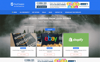 Your Coupon Blogger Template