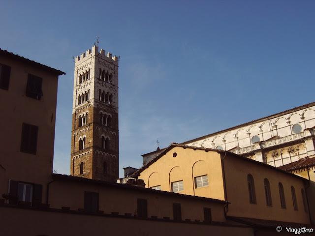 Scorcio della Cattedrale di San Martino di Lucca