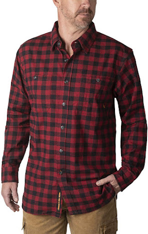 Best Red Plaid Flannel Shirts For Men