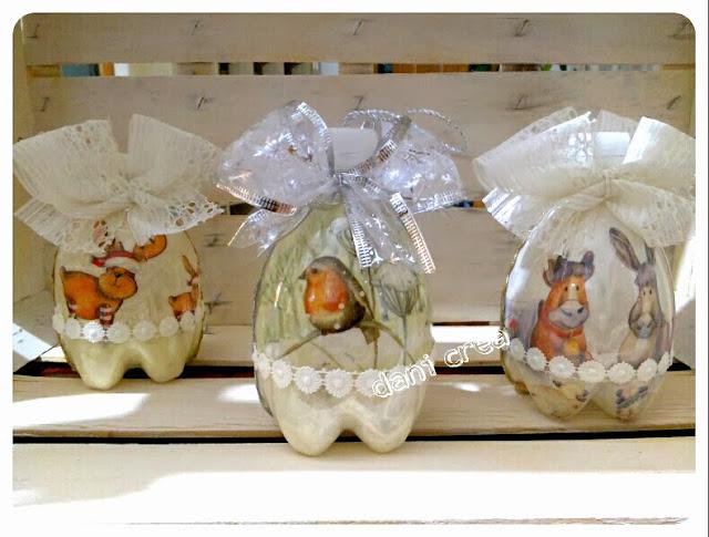 Inspiraciones manualidades y reciclaje adornos de for Adornos navidenos hechos con botellas plasticas