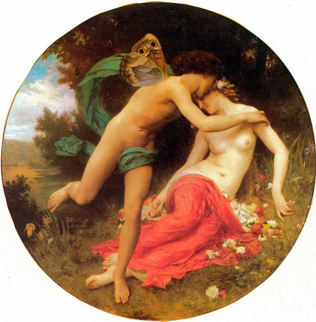 Адольф Вильям Бугро - Амур И Психея (1875)