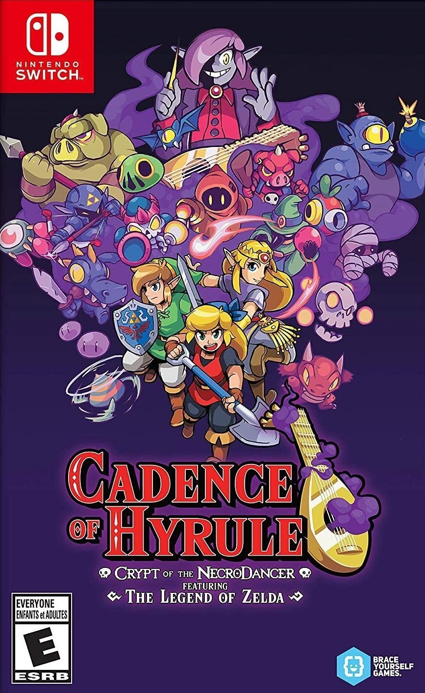 Superphillip Central Cadence Of Hyrule Crypt Of The Necrodancer Featuring The Legend Of Zelda Nsw Review