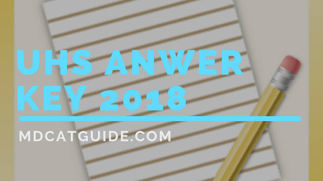 uhs answer key 2019