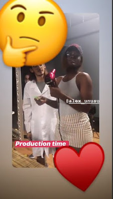 Ex-BBNaija Housemate, Alex Unusual Performs Her First Production At New York Film Academy (VIDEO)