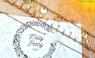 Blog PurpleRain - Molly Penny Shop Bijoux tendance moderne féminins