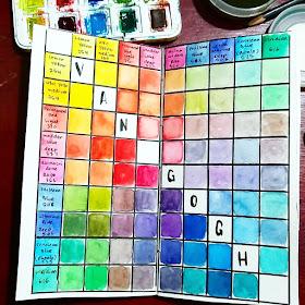 color chart ewafebri