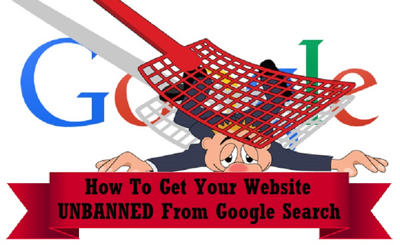 get website unbanned from google