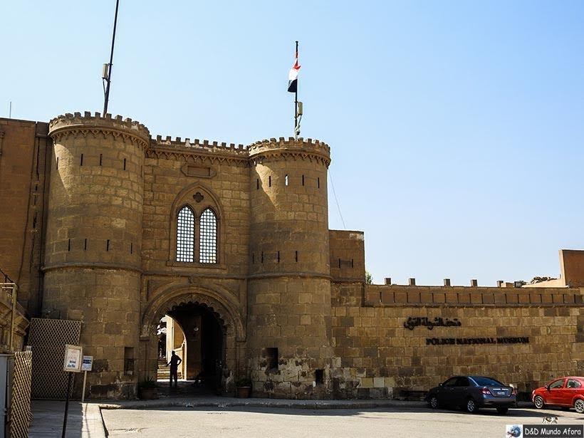 Portões da Cidadela de Saladino e a Mesquita de Mohamed Ali, Cairo