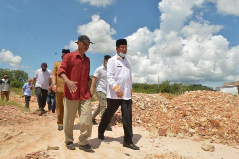 Ini Perintah Isdianto Kepada Pak Kadis PU Abu Bakar saat Tinjau Kawasan Tanjungsengkuang Batam