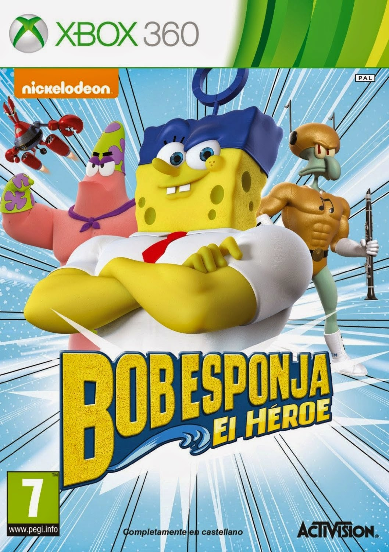 SpongeBob El Heroe XBOX360 free download full version