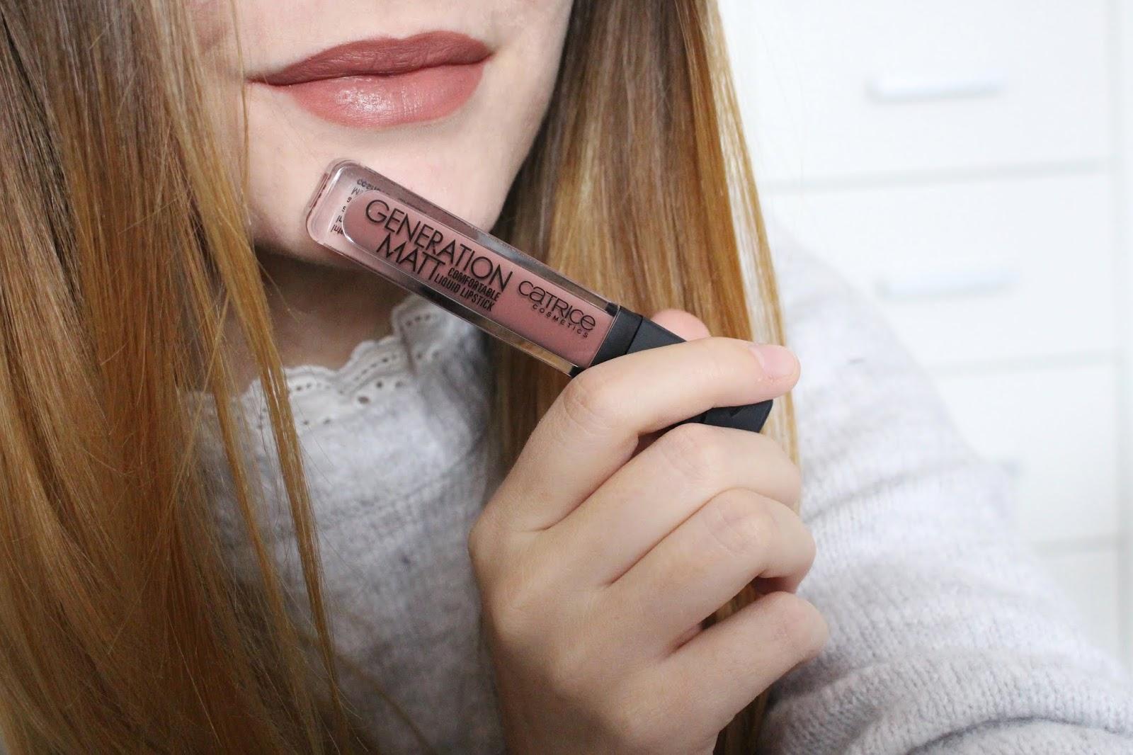 Catrice rúž, líčenie, recenzie, review, blogger, krása