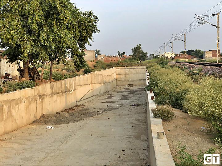 railway-inderpass-gajraula