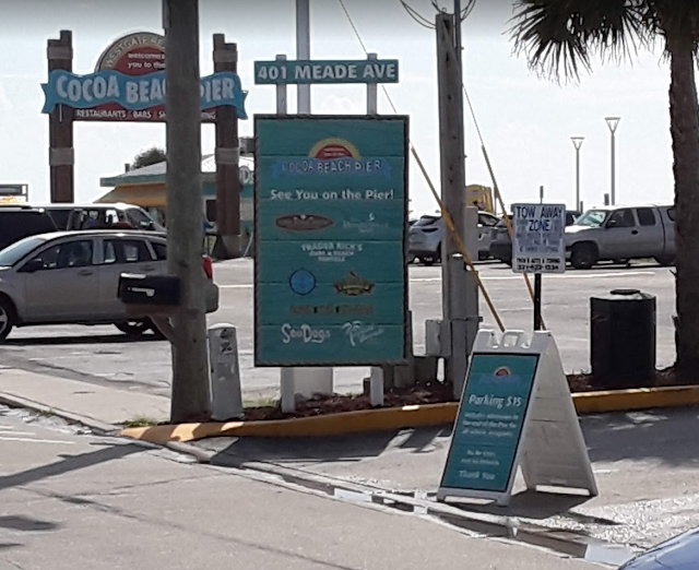 Cocoa Beach Pier Parking