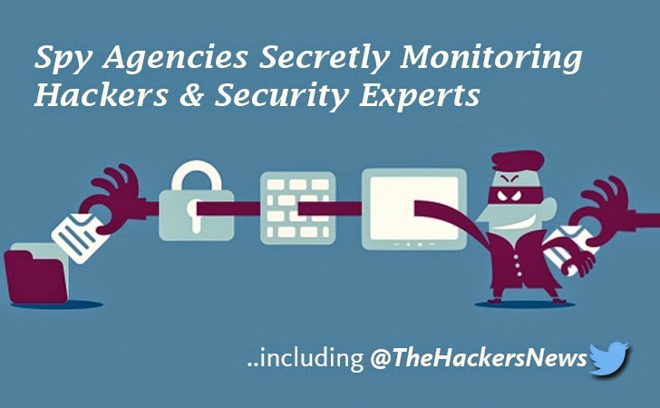 Spy Agencies Rely on Hackers for Stolen Data and Monitoring Security Experts for Expertise