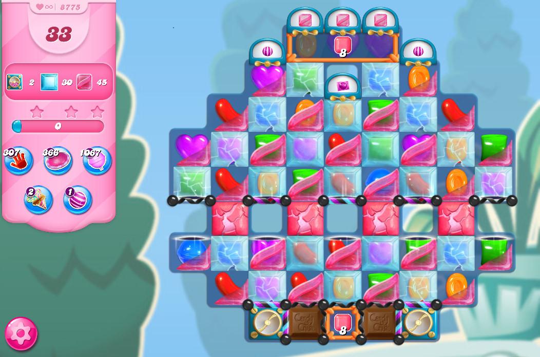 Candy Crush Saga level 8775